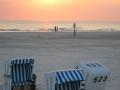 SPO / Bad / Sonnenuntergang Strandkorb