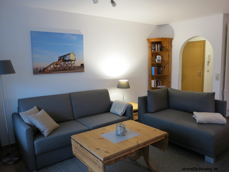 Ausstattung Ferienwohnung Strandluferweg 8